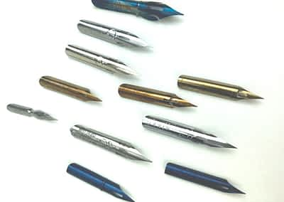 Pointed Pen Nib Sampler