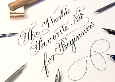 The World's Favorite Nib for Beginners--a Giveaway