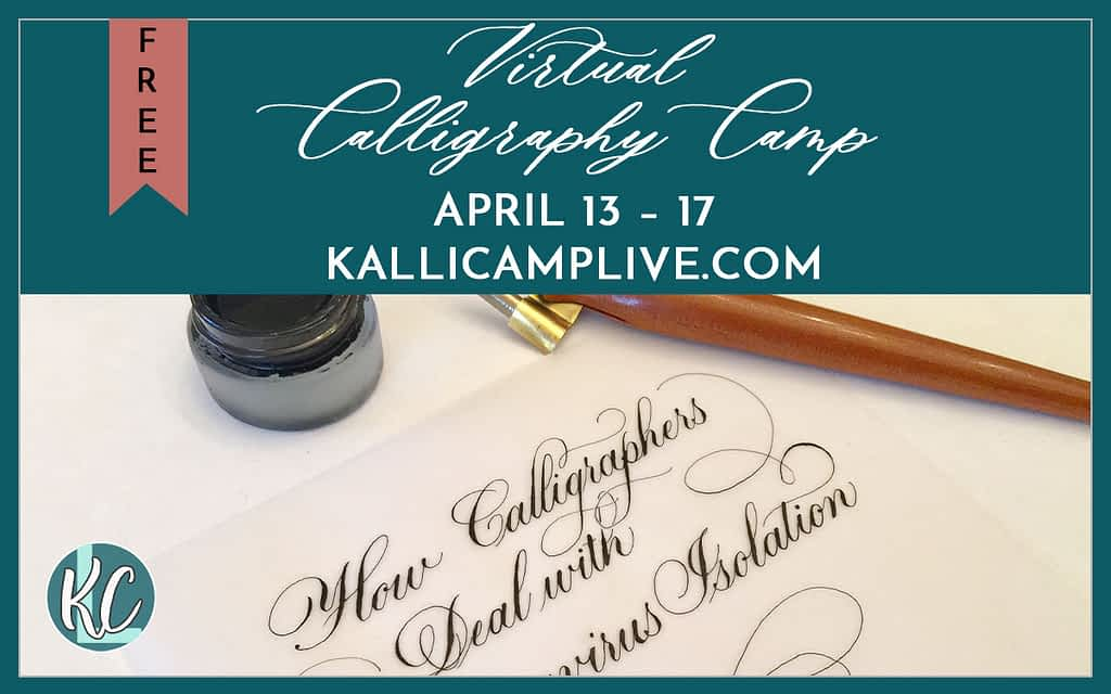 Kalli Camp Live Virtual Calligraphy Camp