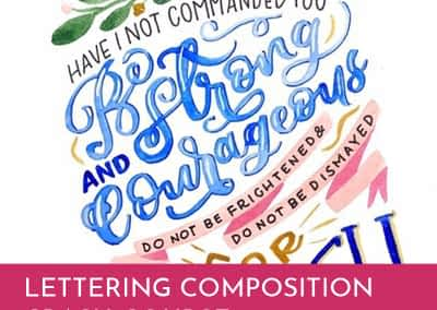 Lettering Composition Crash Course Kate McKee
