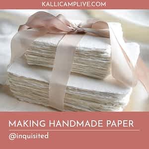 Making Handmade Paper Sakshi Karambelkar