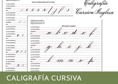 Caligrafia Cursiva Inglesa Marcela Mok