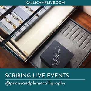Scribing Live Events Erin Cassidy